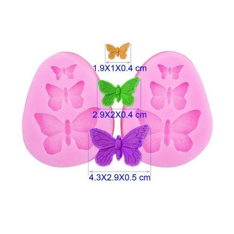 moule 3 papillons