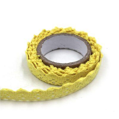 ruban adhesif jaune
