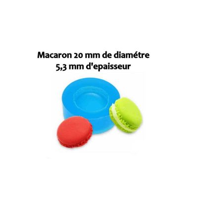 Moule silicone Biscuit macaron