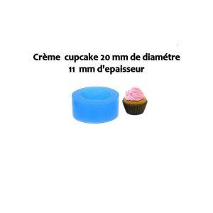 Moule silicone crème cupcake 20 mm