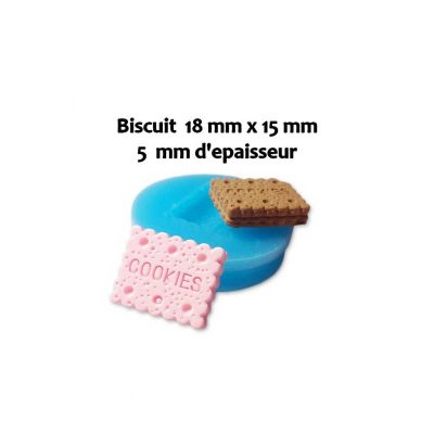Moule silicone Biscuit 18 x 15