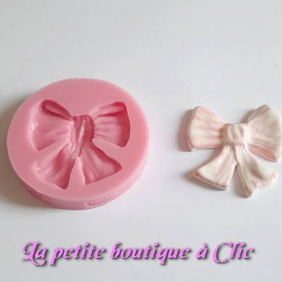 Moule silicone Grand nœud papillon