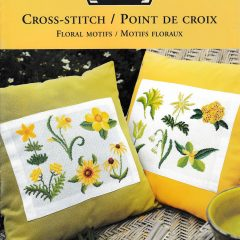 DMC cross stitch / Point de croix Motifs floraux