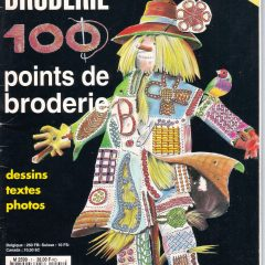 Ouvrages broderie 100 points de broderie