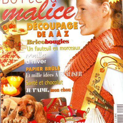 Revue «LA BOITE A MALICE» numéro 4
