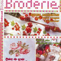 Idéal Broderie numéro 1 Spécial Les fruits rouges