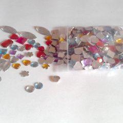 Perles strass pierres brillantes