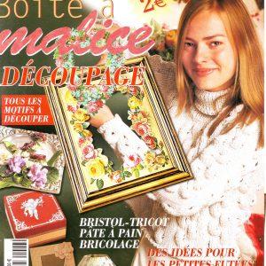 Revue «LA BOITE A MALICE» numéro 6