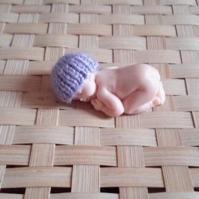Bonnet miniature lavande