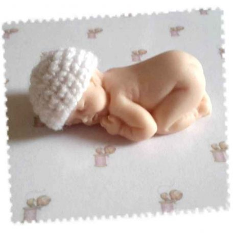 mini bonnet coton blanc