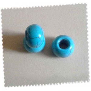 perle ronde turquoise