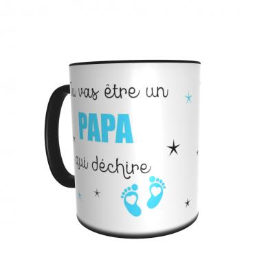 Mug magique annonce Papa