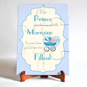 puzzle prince cherche marraine