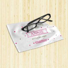 chiffonnette lunette mamie