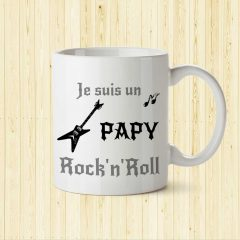 mug papy rock'n'roll