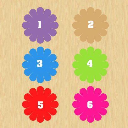 carte à gratter couleur