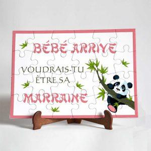 puzzle marraine panda