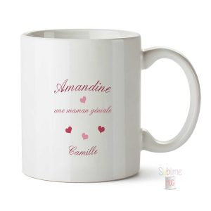 Mug Maman personnalisé