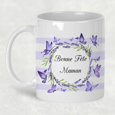 mug bonne fête maman personnalisé
