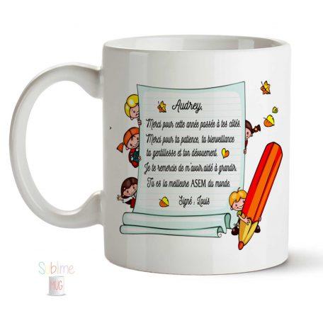 mug asem personnalisé