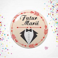 badge evg futur marié