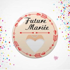 Badge EVJF future mariée
