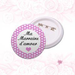 badge marraine