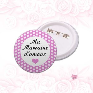 badge marraine