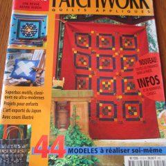 Burda Spécial Patchwork quilts appliquésN° 519