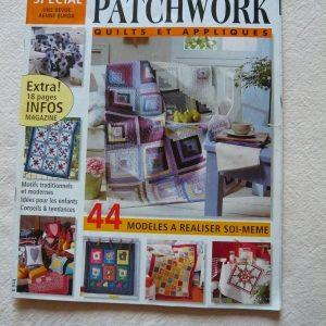 Burda spécial patchwork quilts & appliqués
