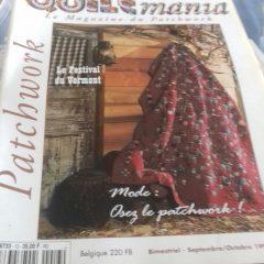 QUILTMANIA n°13 le magazine du patchwork