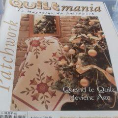 QUILTMANIA n°14 le magazine du patchwork