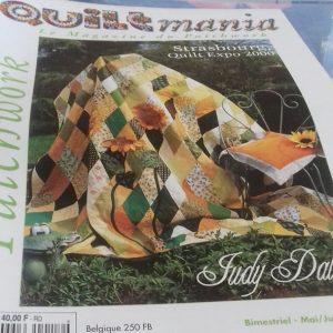 QUILTMANIA n°17 le magazine du patchwork