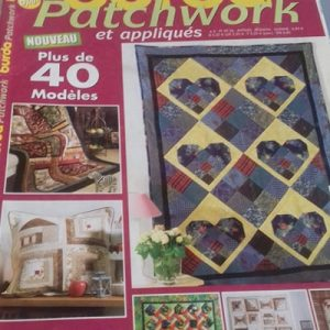 burda patchwork et appliqués