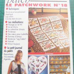"""Revue Magic Patch """"Le patchwork Numéro 18"""" Les Editions de Saxe"""