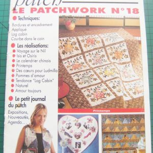 Revue Magic Patch « Le patchwork Numéro 18 » Les Editions de Saxe