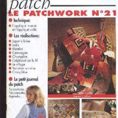 """Revue Magic Patch """"Le patchwork Numéro 21"""" Les Editions de Saxe"""