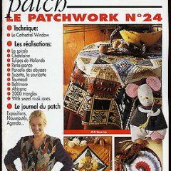 """Revue Magic Patch """"Le patchwork Numéro 24"""" Les Editions de Saxe"""