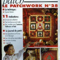 """Revue Magic Patch """"Le patchwork Numéro 28"""" Les Editions de Saxe"""