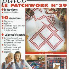 """Revue Magic Patch """"Le patchwork Numéro 29"""" Les Editions de Saxe"""