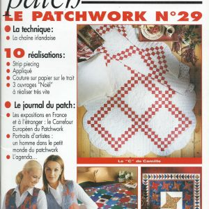 Revue Magic Patch « Le patchwork Numéro 29 » Les Editions de Saxe