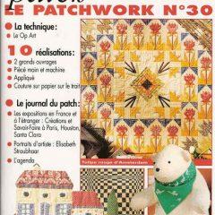 """Revue Magic Patch """"Le patchwork Numéro 30"""" Les Editions de Saxe"""