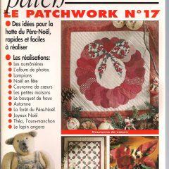 """Revue Magic Patch """"Le patchwork Numéro 17"""" Les Editions de Saxe"""