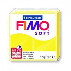 Pâte Fimo Soft Jaune citron N°10