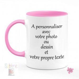 Mug Personnalisé photo- dessin- texte