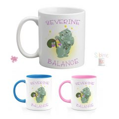 mug signe astrologique balance prénom perso