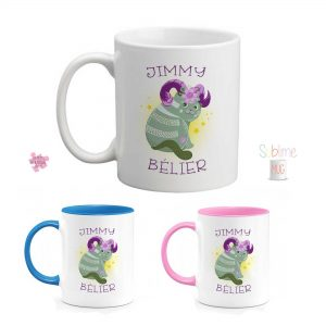 Mug signe astrologique bélier personnalisé prénom