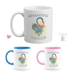 mug personnalisé signe astrologique cancer