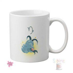 Mug personnalisé signe Capricorne