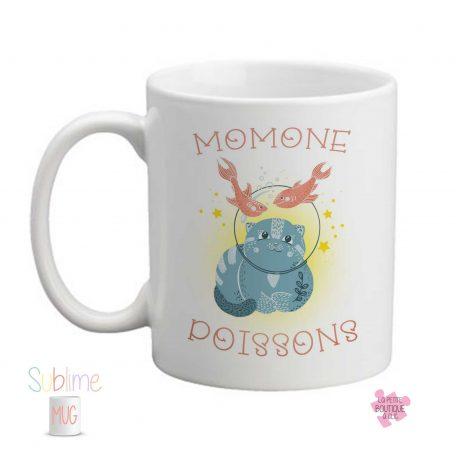 mug signe lion prénom